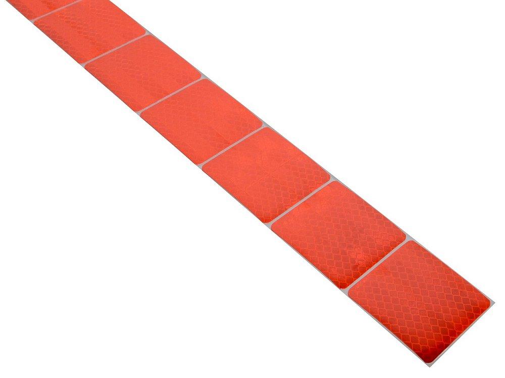 Samolepiaca páska reflexná delená 3M 1m x 5cm červená