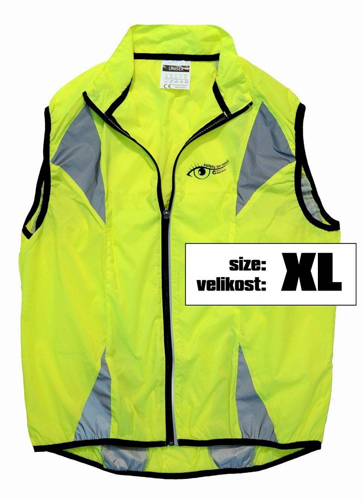 Vesta XL reflexná žltá S.O.R.