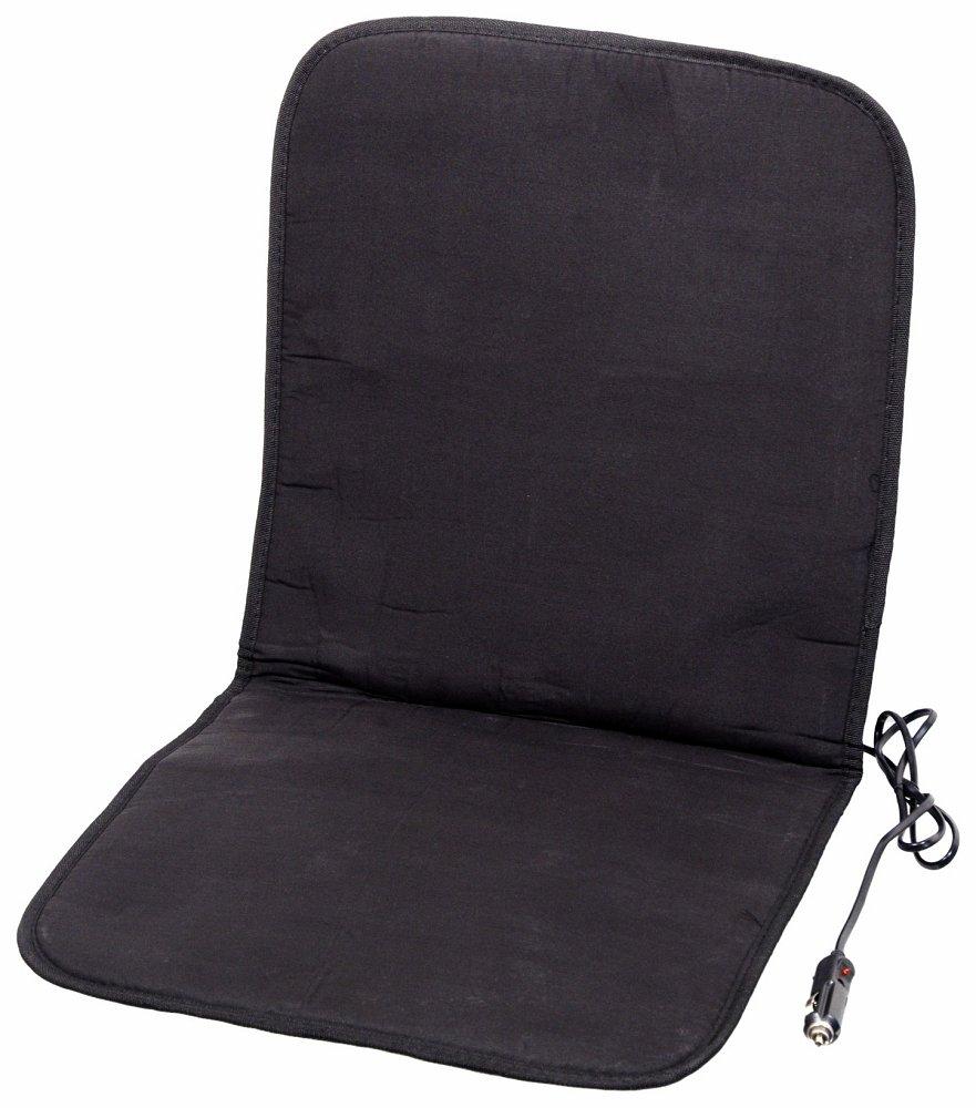 Poťah sedadla vyhrievaný s termostatem 12V -  čierny