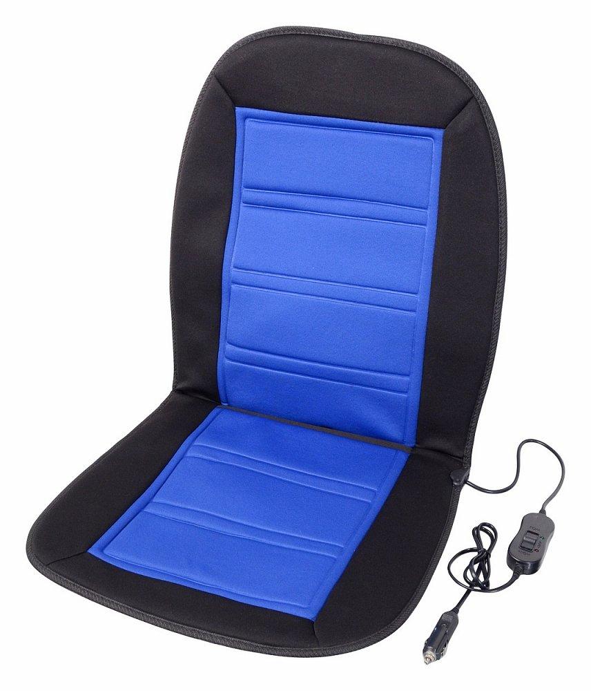Poťah sedadla vyhrievaný 12V LADDER modrý