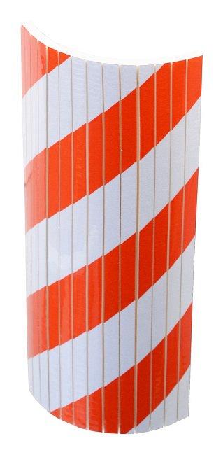 Reflexný penový nárazník 18x38x1cm guľatý