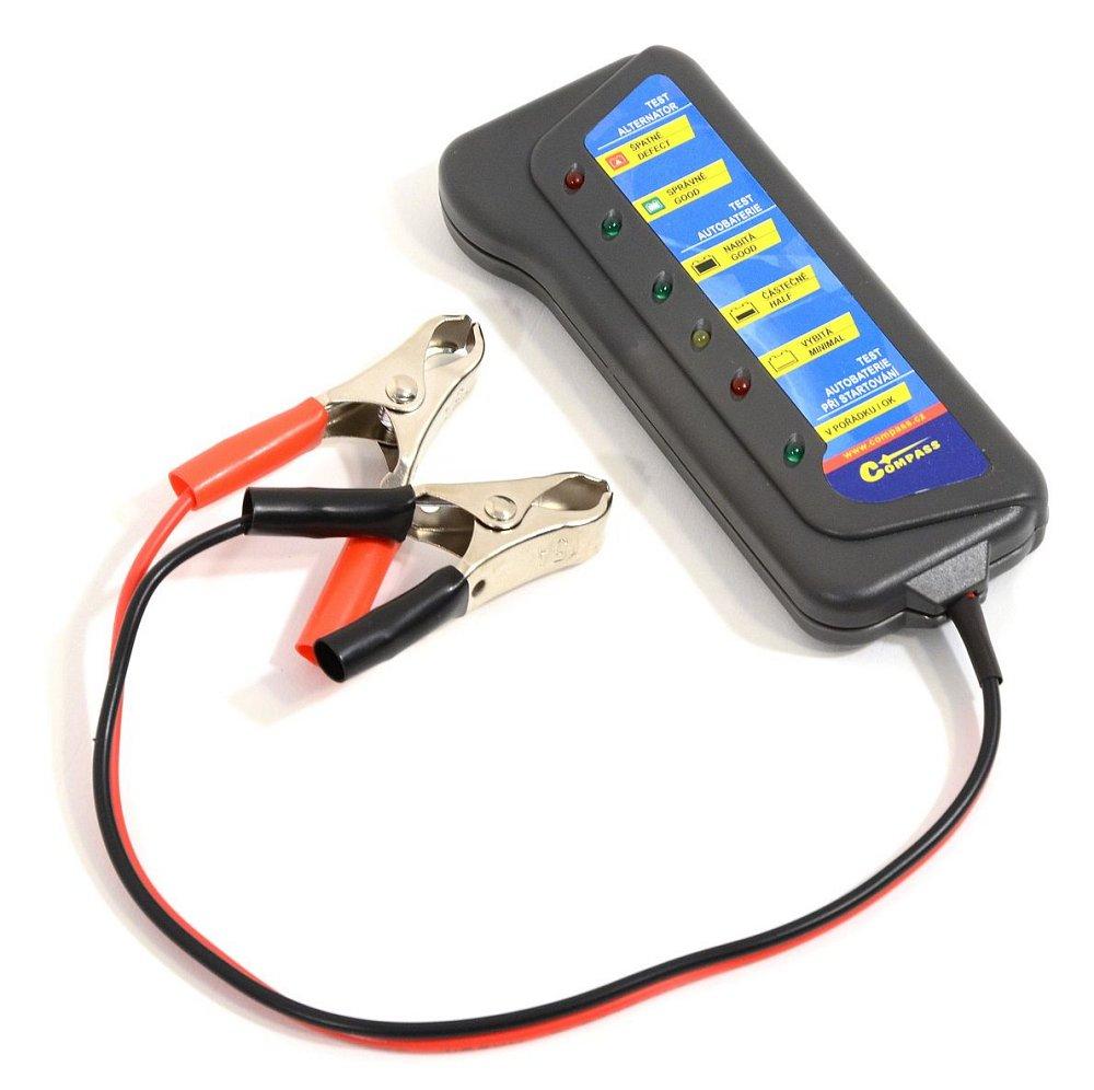 Tester autobatérie a alternátoru 12V