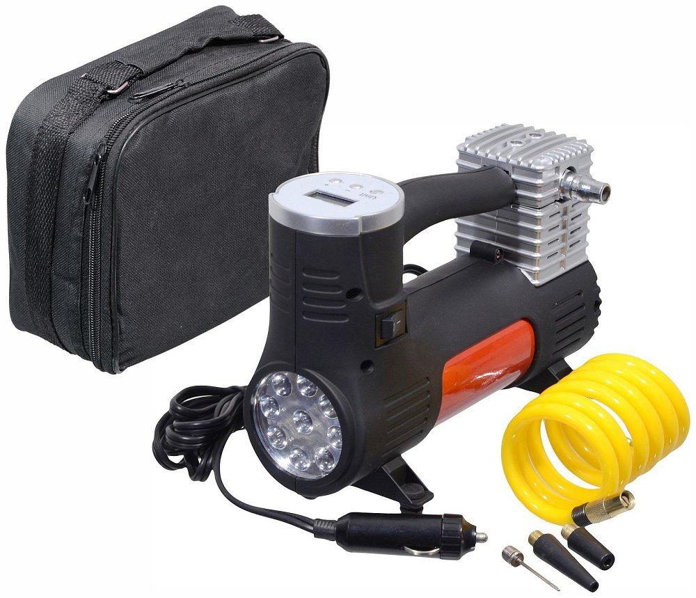Kompresor 12V POWER BULL s LED svetlom