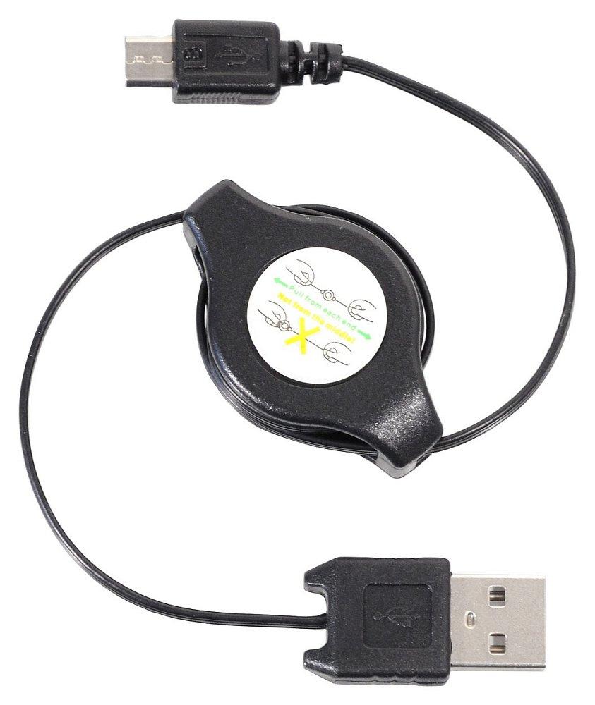 Nabíjačka telefónu USB - MICRO USB navíjacia