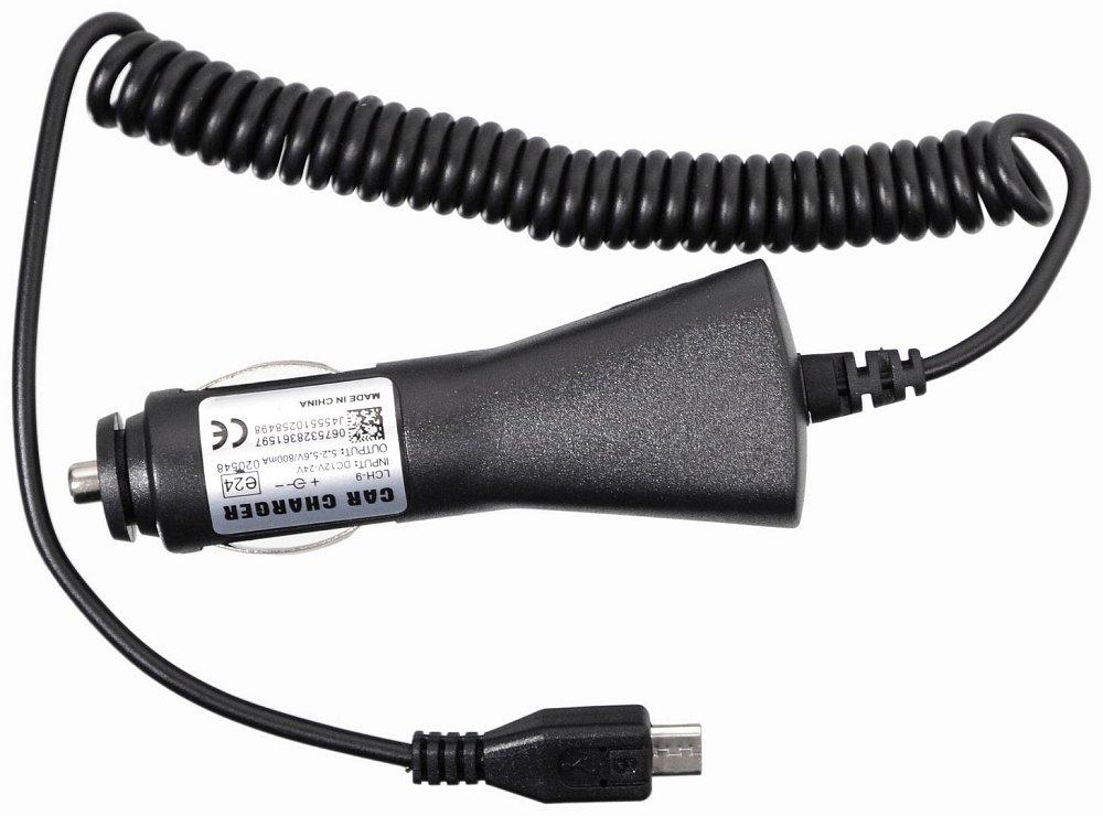 Nabíjačka telefónu 12/24V  MICRO USB 1A