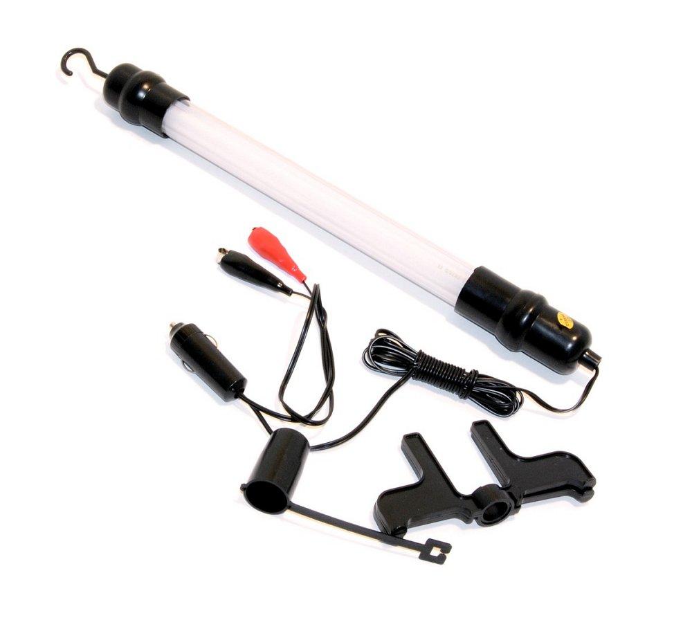 Lampa montážna 12V so svorkami