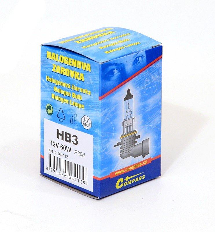 Žiarovka 12V   HB3 60W  P20d  box