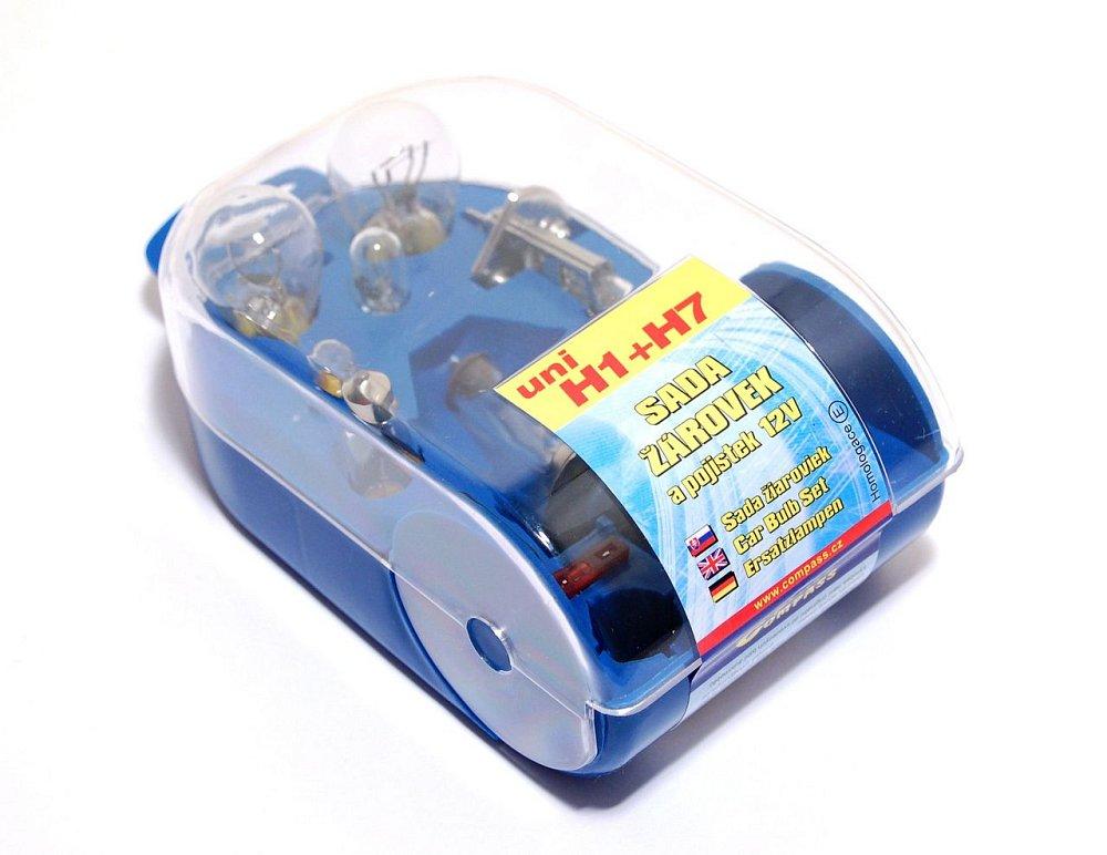 Žiarovky servisný box univerzálny H7+H1