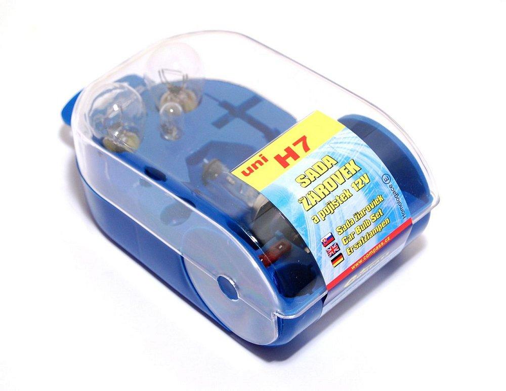 Žiarovky servisný box univerzálny H7