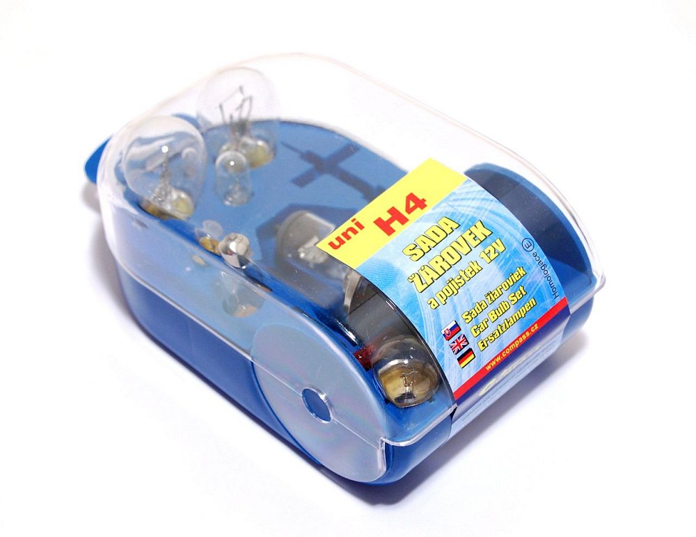 Žiarovky servisný box univerzálny H4