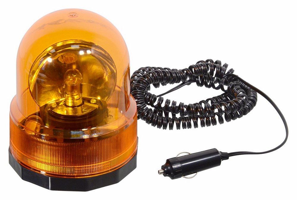 Maják oranžový 12V