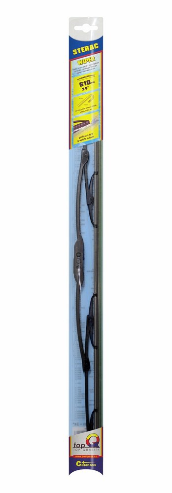 Stierač kovový TOPQ  610 mm GRAFIT