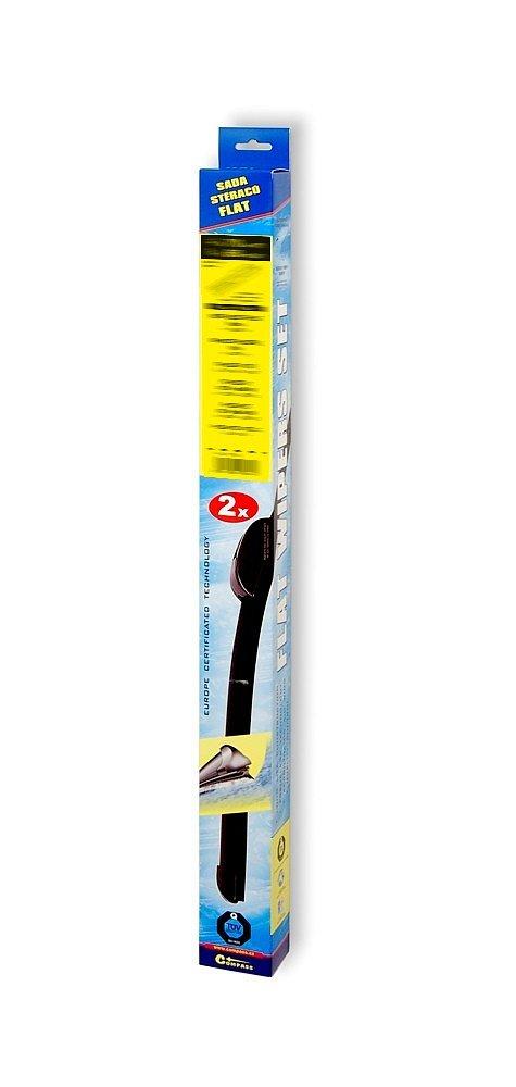 Stierače FLAT SET (SLOT) 550+550mm