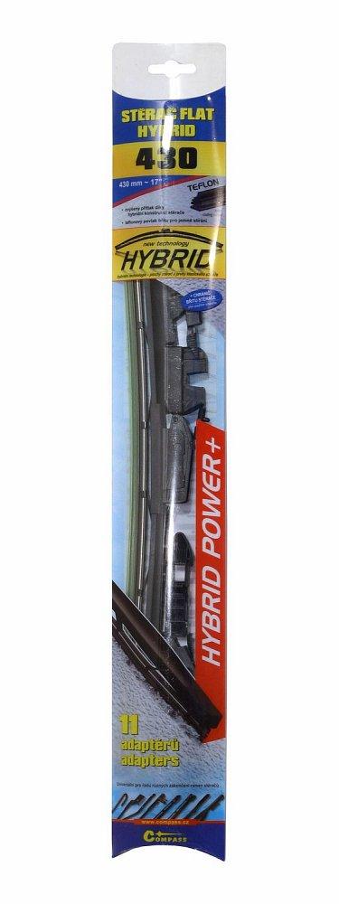Stierač HYBRID  430mm + 11 adaptérov TEFLON