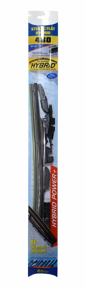 Stierač HYBRID  480mm + 11 adaptérov TEFLON