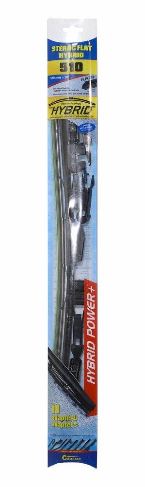 Stierač HYBRID  510mm + 11 adaptérov TEFLON