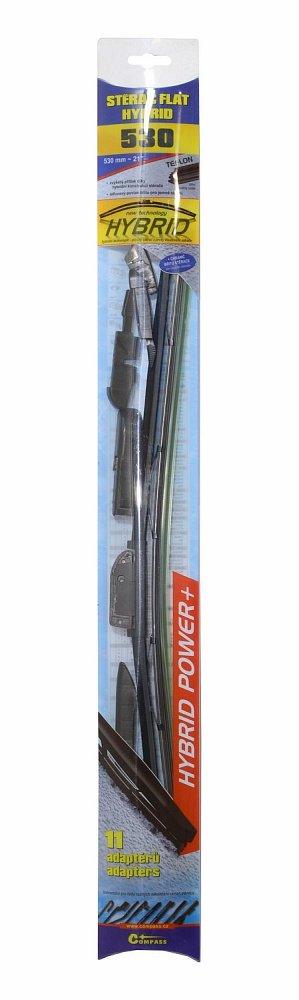 Stierač HYBRID  530mm + 11 adaptérov TEFLON