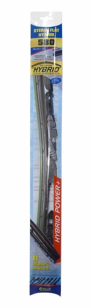 Stierač HYBRID  580mm + 11 adaptérov TEFLON