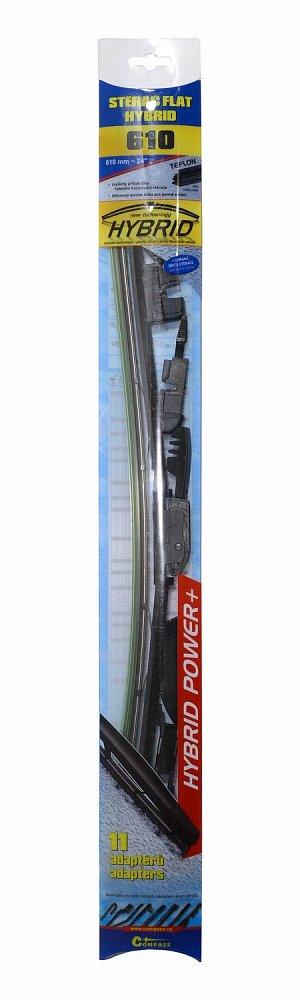Stierač HYBRID  610mm + 11 adaptérov TEFLON