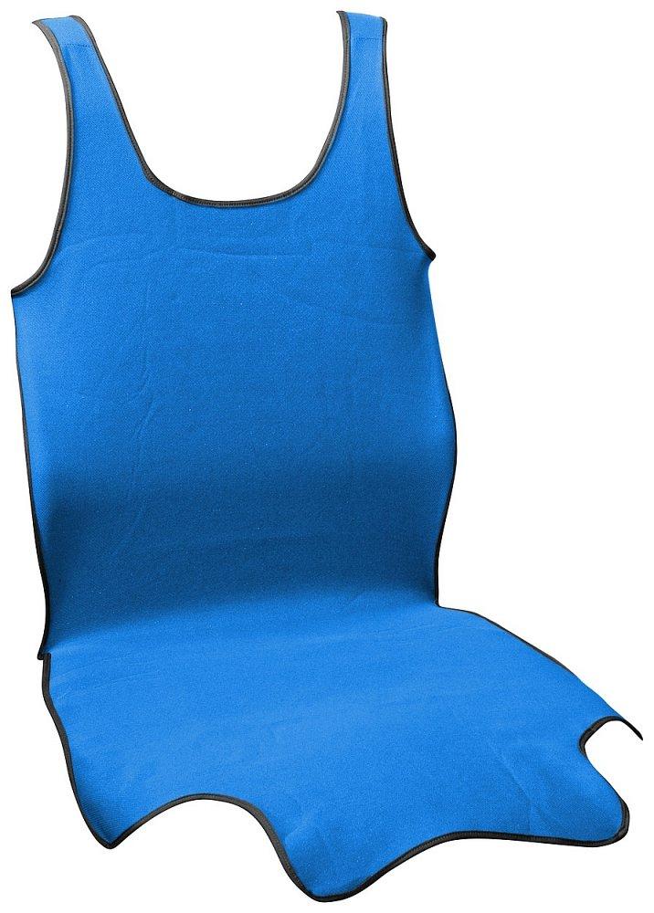 Poťah sedadla TRIKO SOFT predné 1ks modrý
