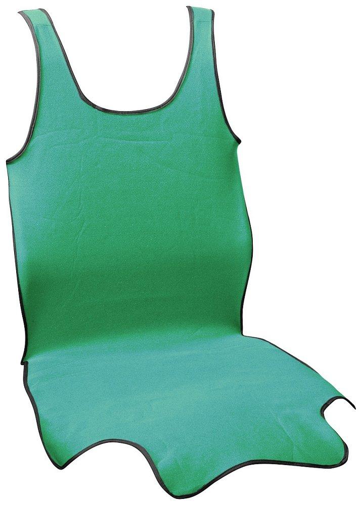 Poťah sedadla TRIKO SOFT predné 1ks zelený