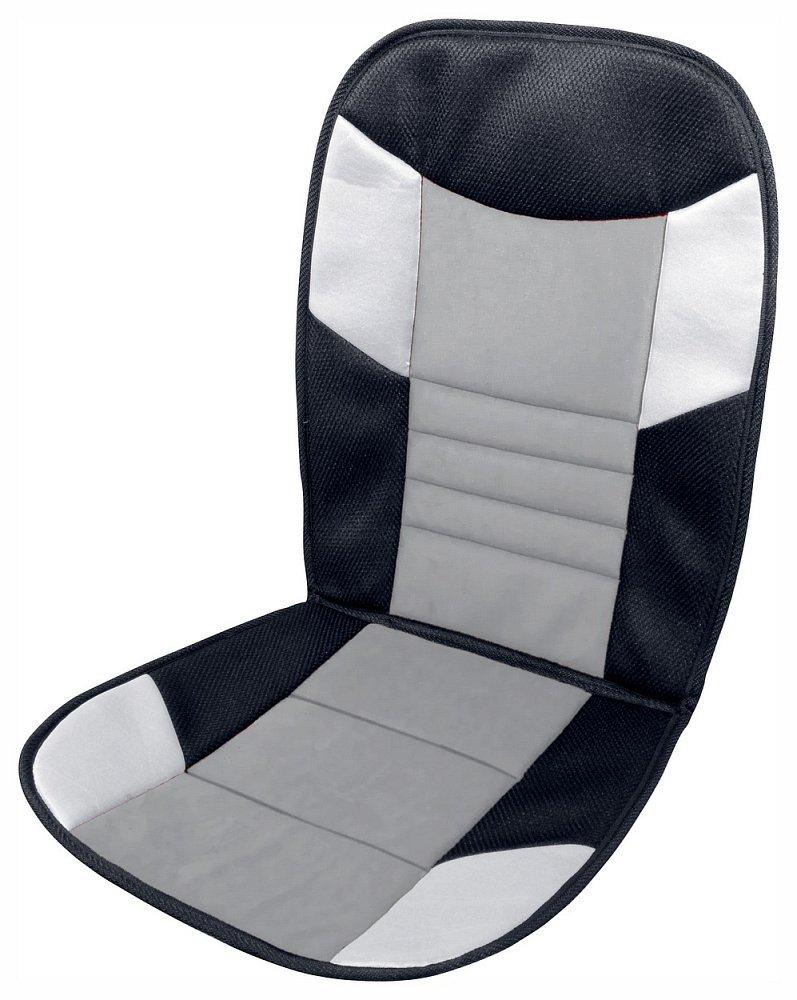 Poťah sedadla TETRIS černo-sivý