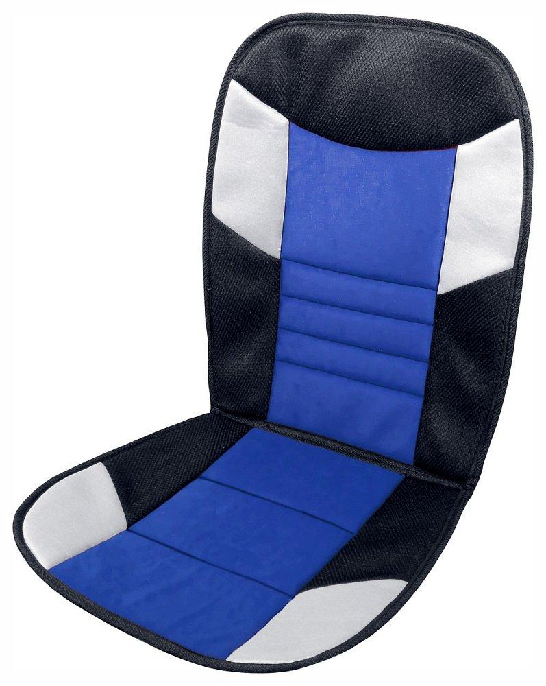 Poťah sedadla TETRIS černo-modrý