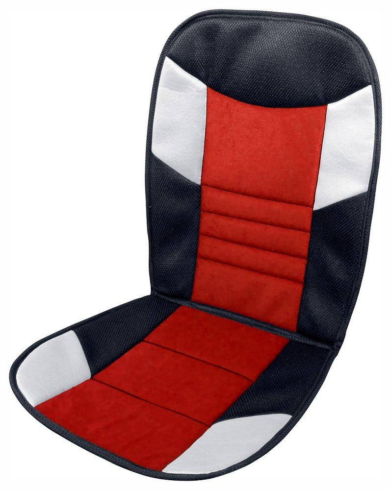 Poťah sedadla TETRIS černo-červený