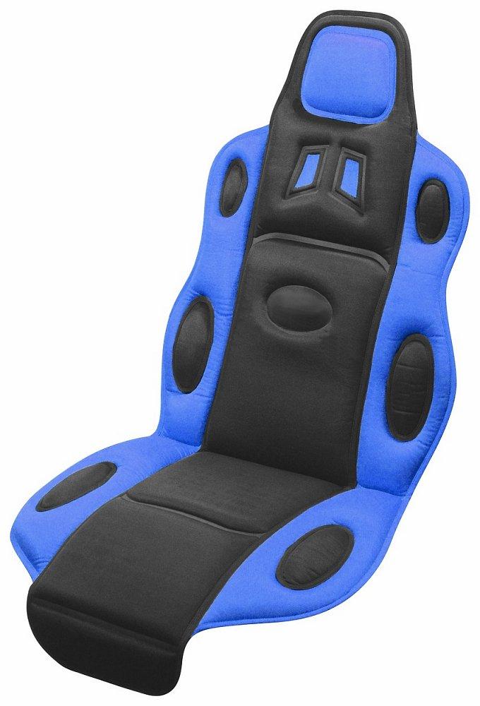 Poťah sedadla RACE černo-modrý