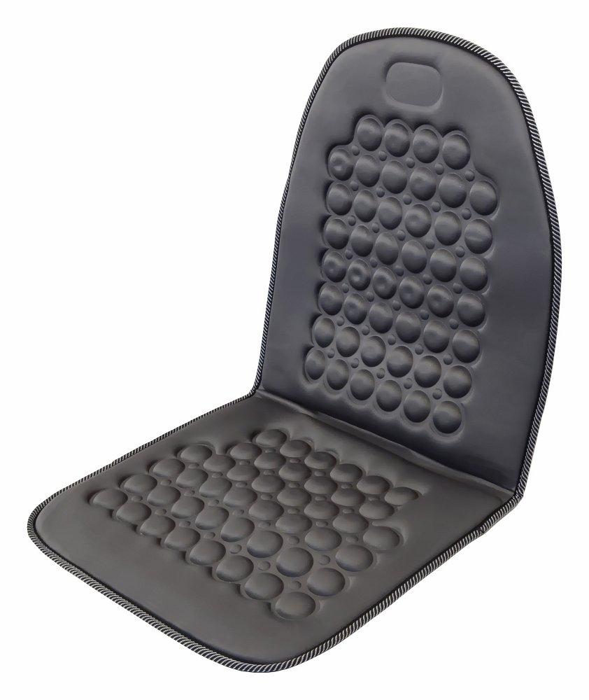 Poťah sedadla masážny s magnetom sivý