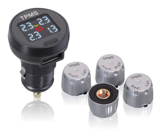 Systém pre kontrolu tlaku pneumatík EXT