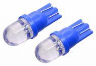 Žiarovka 1LED 12V  T10  modrá  2ks