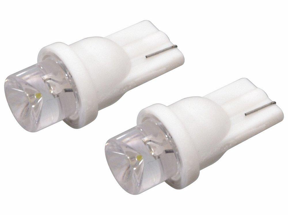 Žiarovka 1LED 12V  T10  biela  2ks