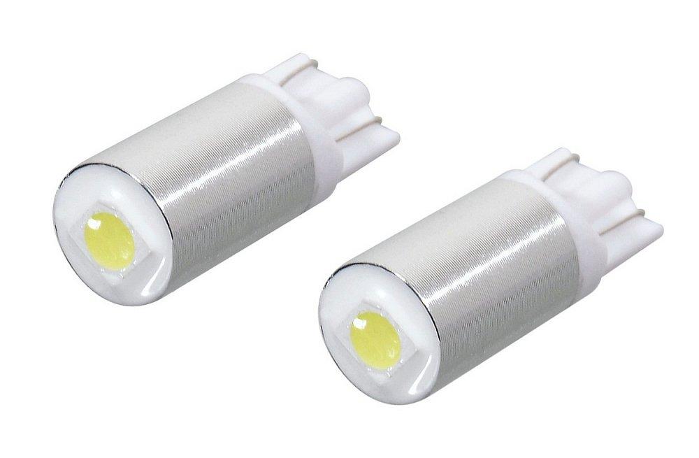 Žiarovka 1 SMD LED 12V T10 biela 2ks