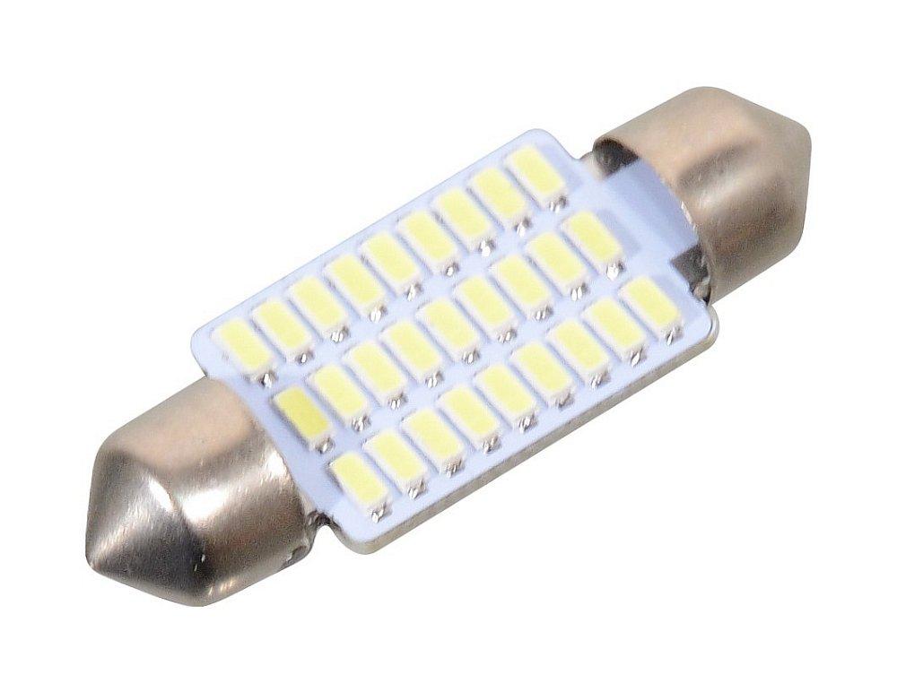 Žiarovka 27 SMD LED suf. SV8.5 biela