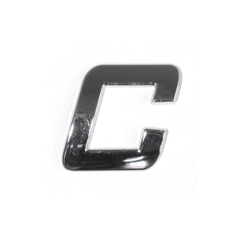 Znak C samolepiaci PLASTIC