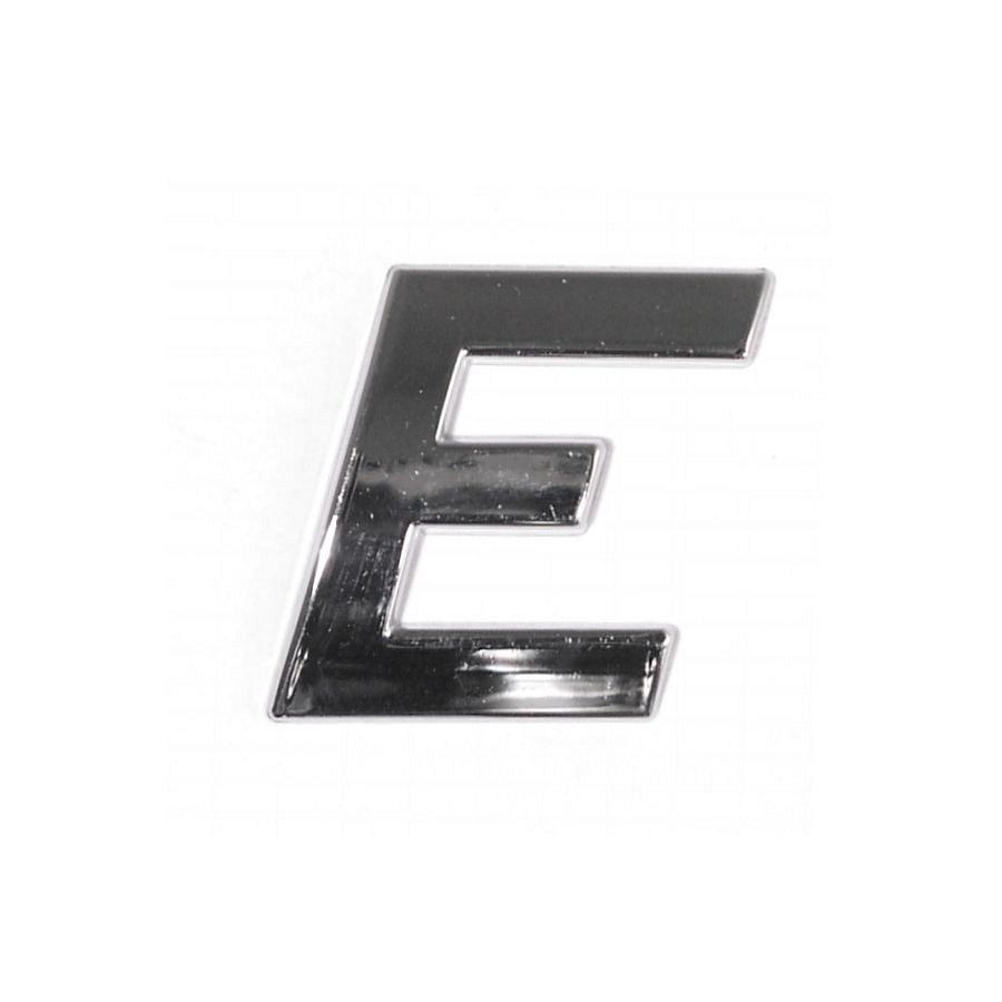 Znak E samolepiaci PLASTIC