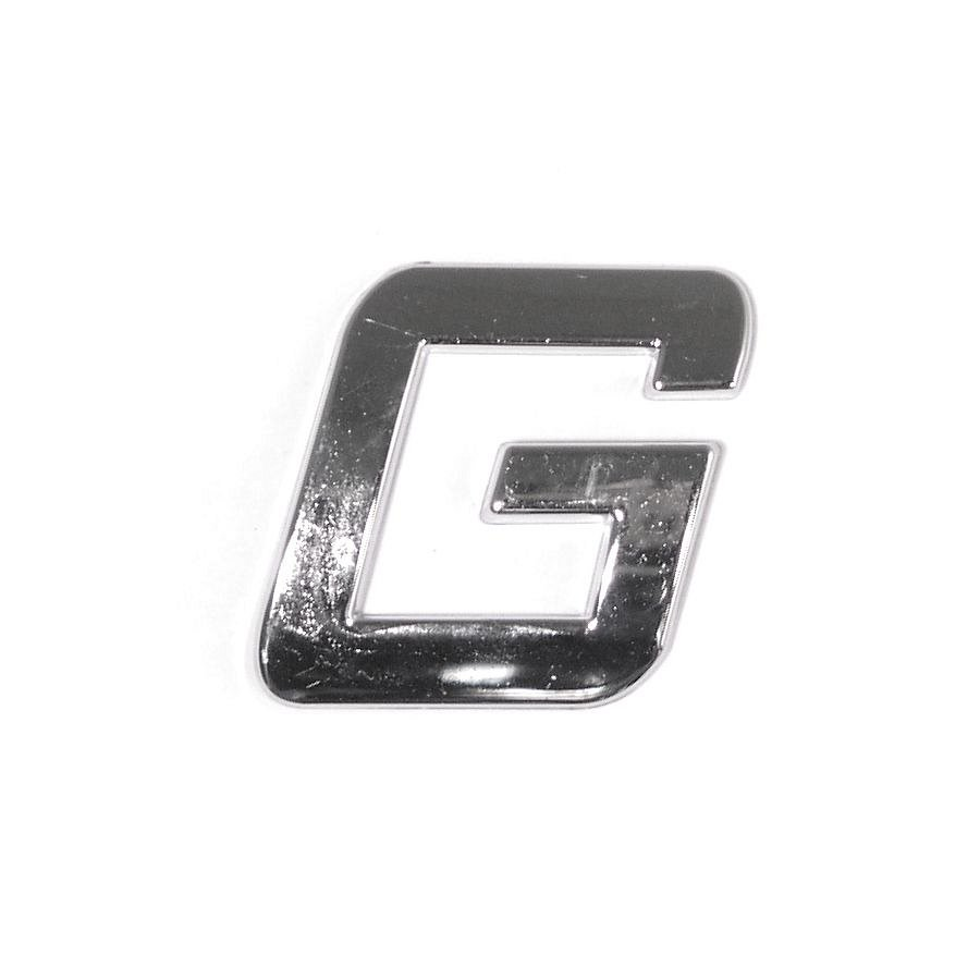 Znak G samolepiaci PLASTIC