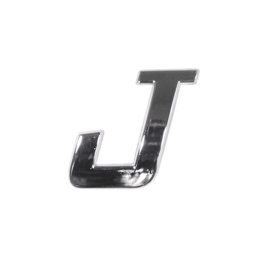 Znak J samolepiaci PLASTIC