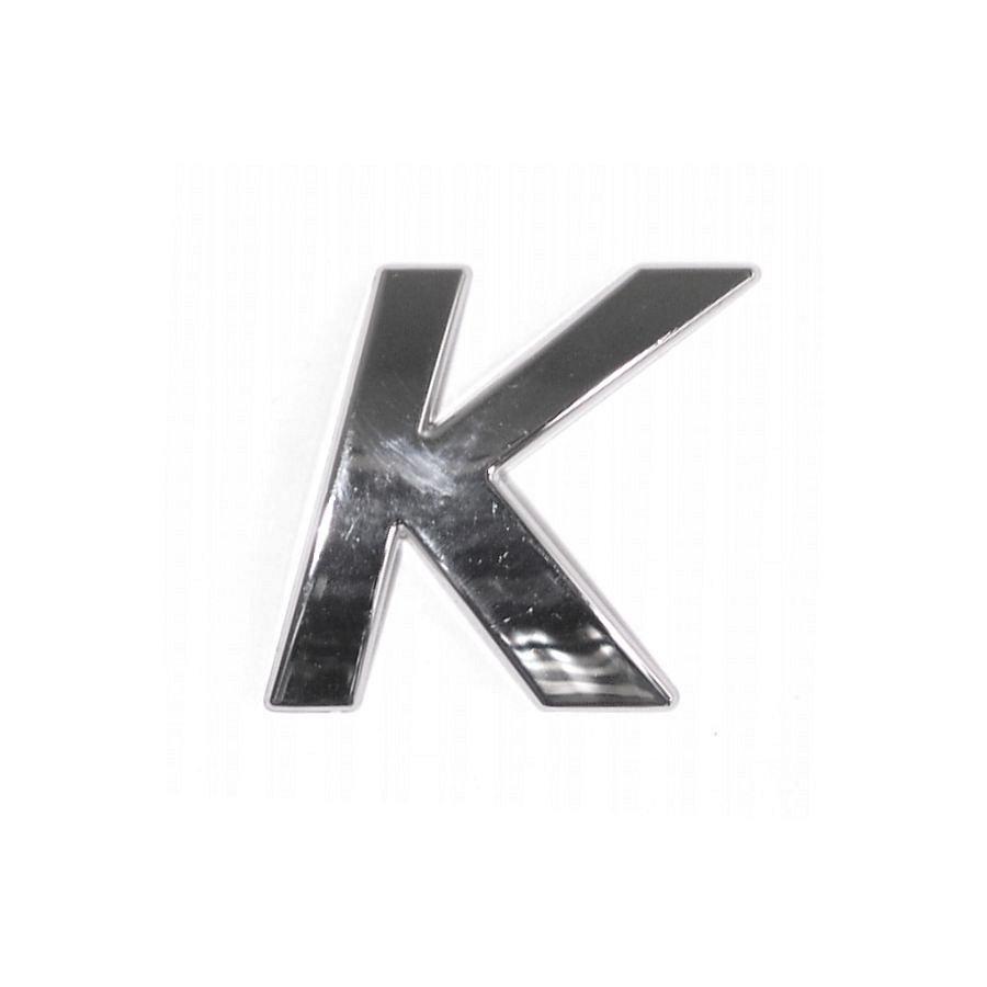 Znak K samolepiaci PLASTIC