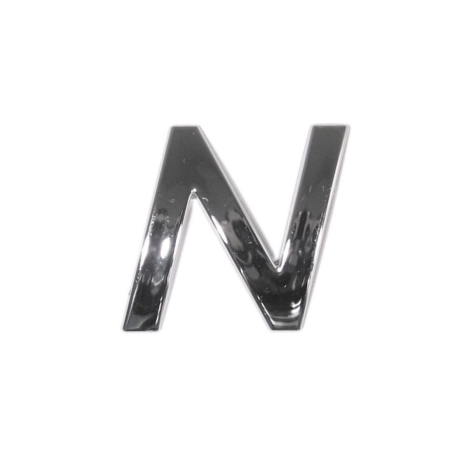 Znak N samolepiaci PLASTIC
