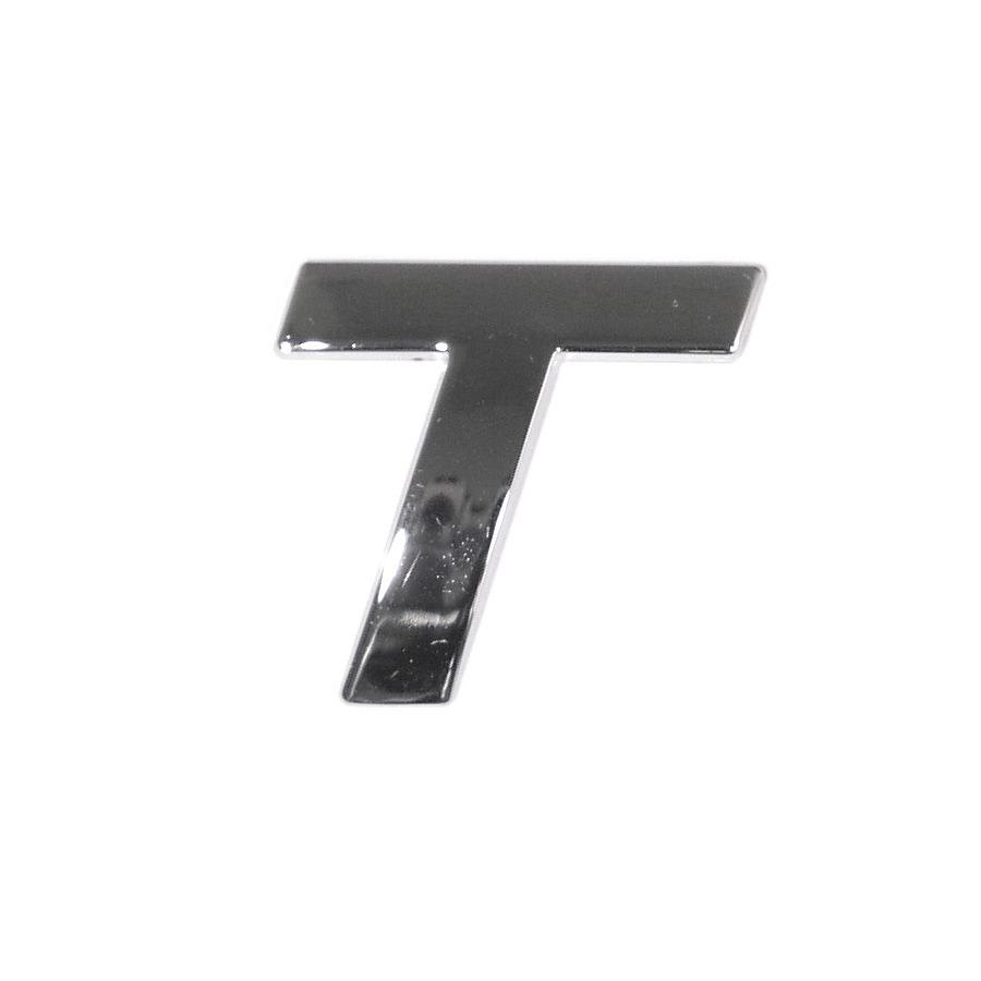 Znak T samolepiaci PLASTIC