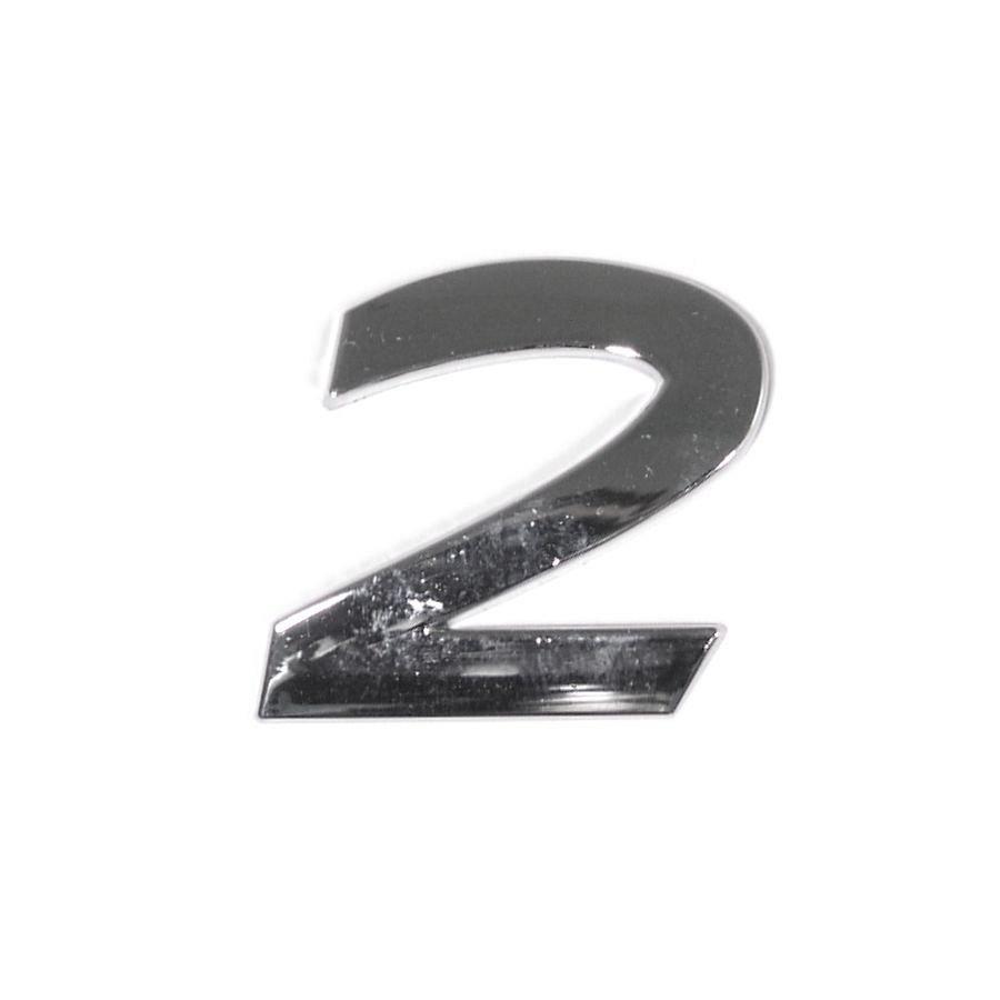 Znak 2 samolepiaci PLASTIC