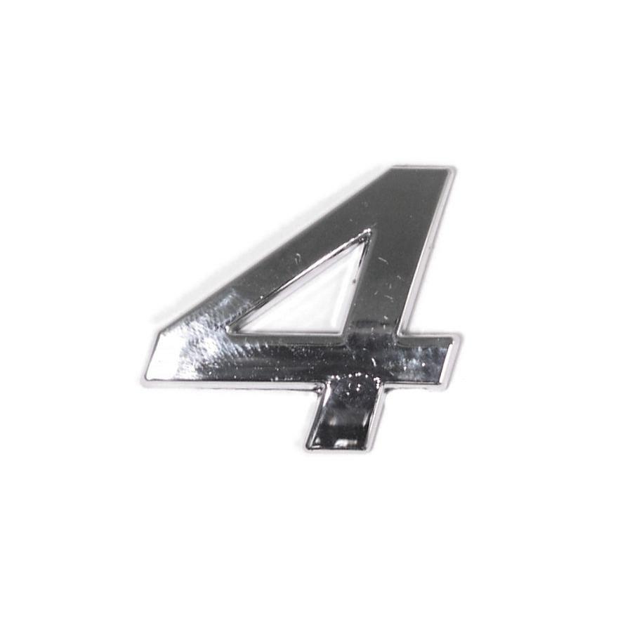 Znak 4 samolepiaci PLASTIC