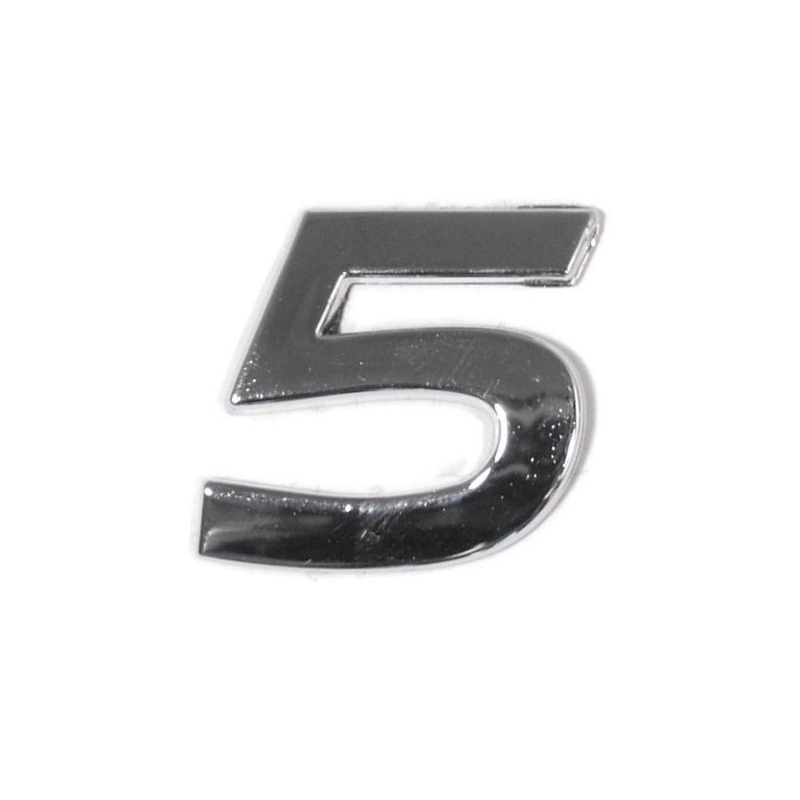 Znak 5 samolepiaci PLASTIC