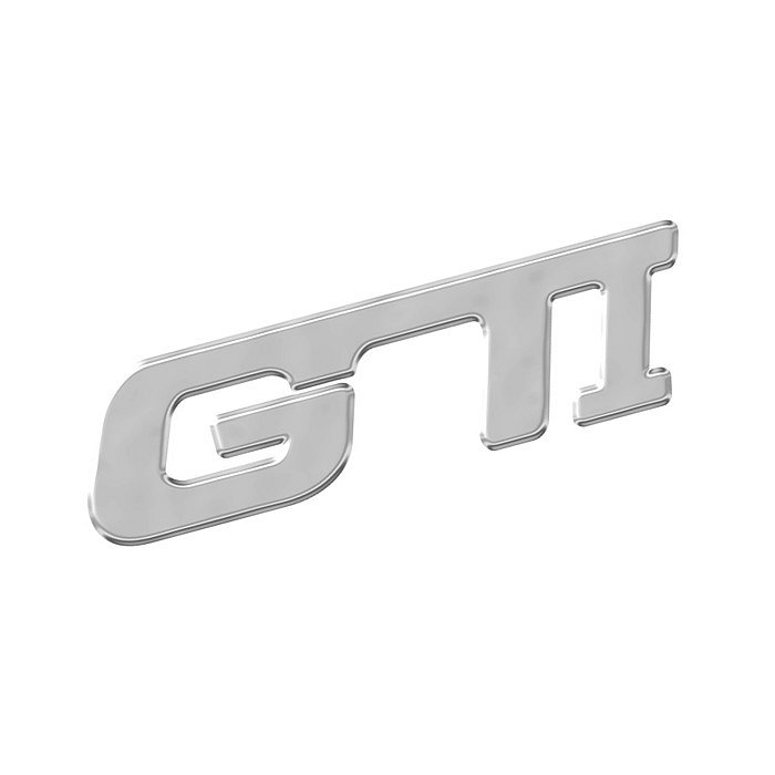Znak GTI samolepiaci PLASTIC