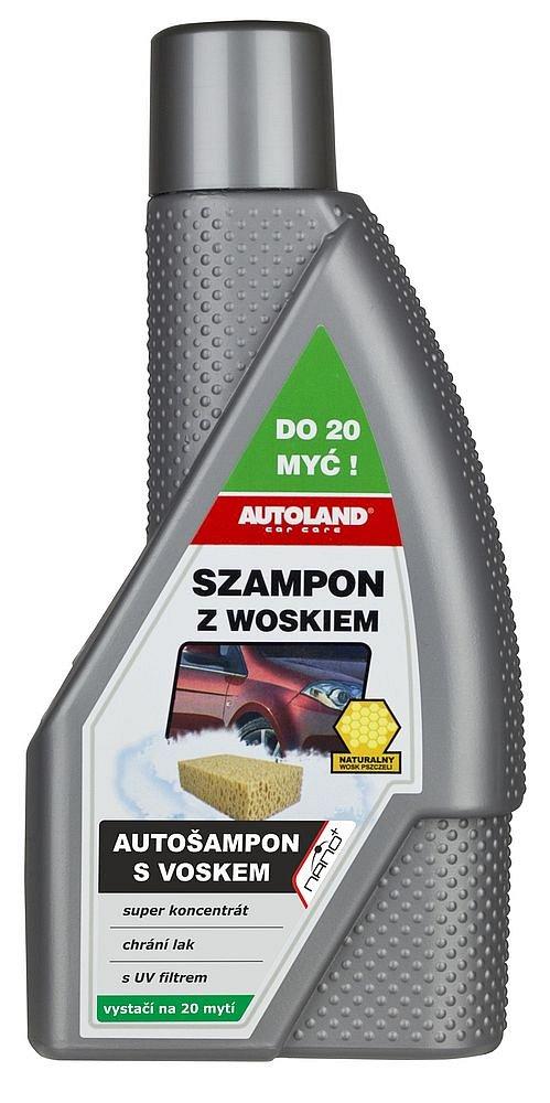 Autošampón s voskom NANO+ 600ml