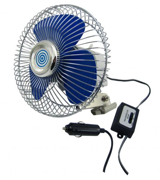 Ventilátor kovový 24V