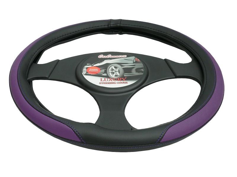 Poťah volantu LUXURY fialový