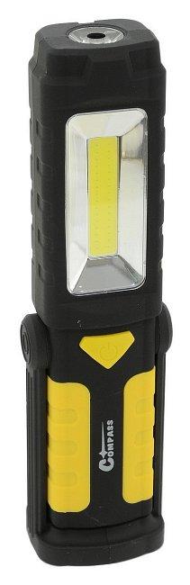Lampa montážna LED 80/280lm 3xAA